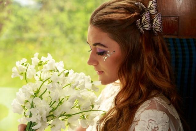 Wedding Portrait Flowers