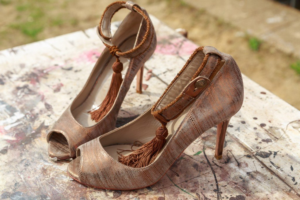 Copper Shoes