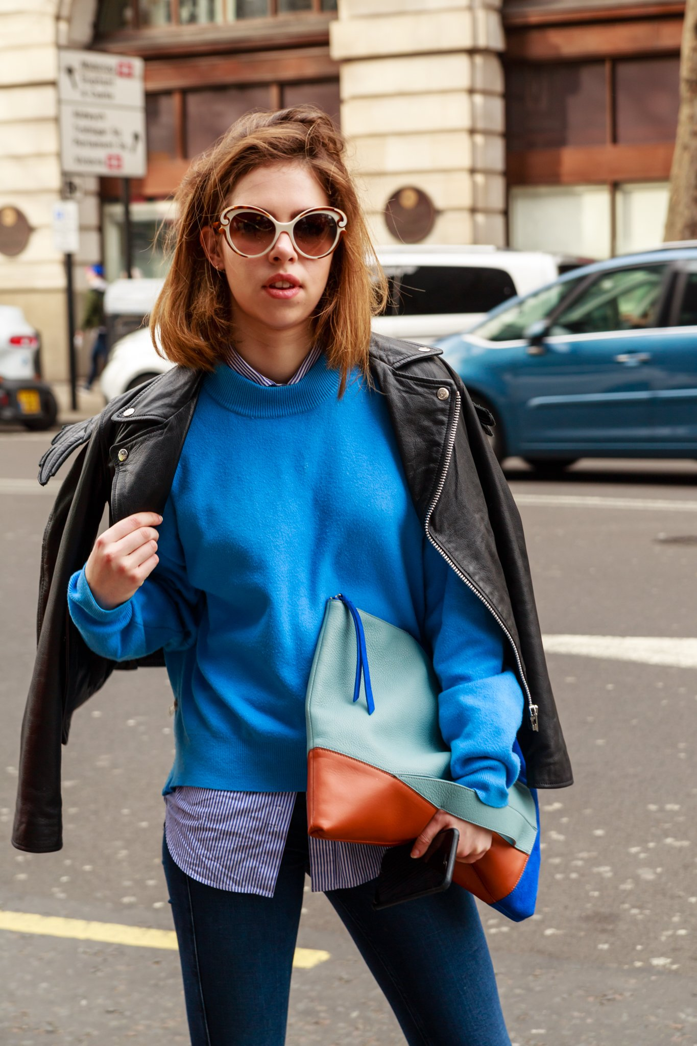 Street Fashion at LFW
