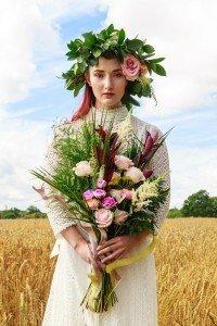 Bernadette Flowers Wheat